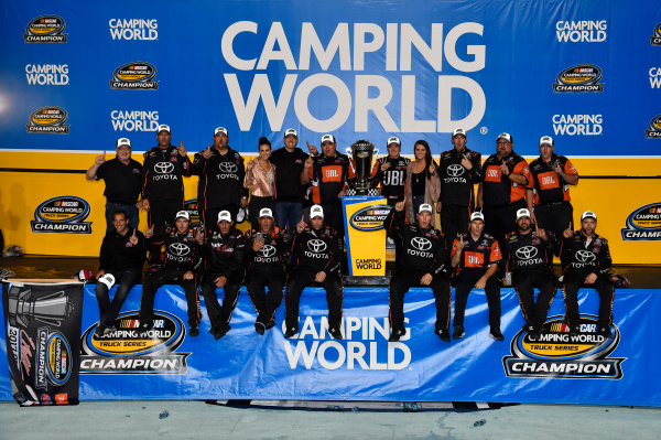 NASCAR Camping World Truck Series Ford EcoBoost 200 Homestead-Miami Speedway, Homestead, FL USA Friday 17 November 2017 Christopher Bell, JBL Toyota Tundra World Copyright: Rusty Jarrett LAT Images