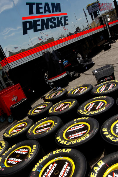 11-12 July, 2014, Loudon, New Hampshire USA Team Penske Racing Tires ©2014, Matthew T. Thacker LAT Photo USA