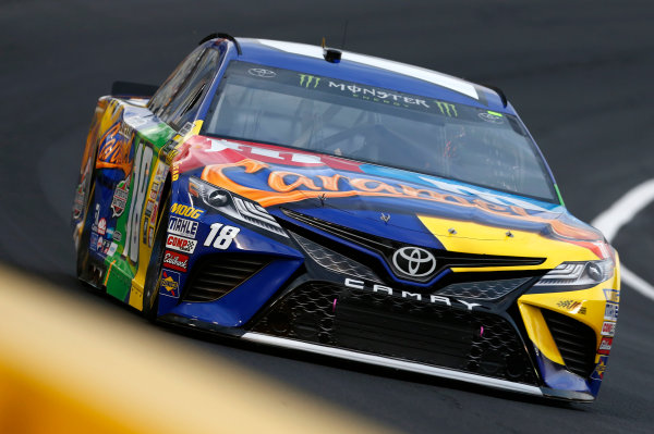 Monster Energy NASCAR Cup Series Monster Energy NASCAR All-Star Race Charlotte Motor Speedway, Concord, NC USA Friday 19 May 2017 Kyle Busch, Joe Gibbs Racing, M&M's Caramel Toyota Camry World Copyright: Matthew T. Thacker LAT Images ref: Digital Image 17CLT1mt1446