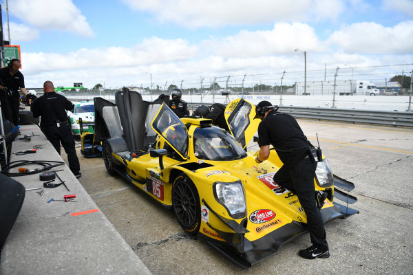 2017 WeatherTech SportsCar Championship - IMSA February Test Sebring International Raceway, Sebring, FL USA Friday 24 February 2017 85, ORECA, P, Misha Goikhberg, Chris Miller, Stephen Simpson World Copyright: Richard Dole/LAT Images ref: Digital Image RD_2_17_186