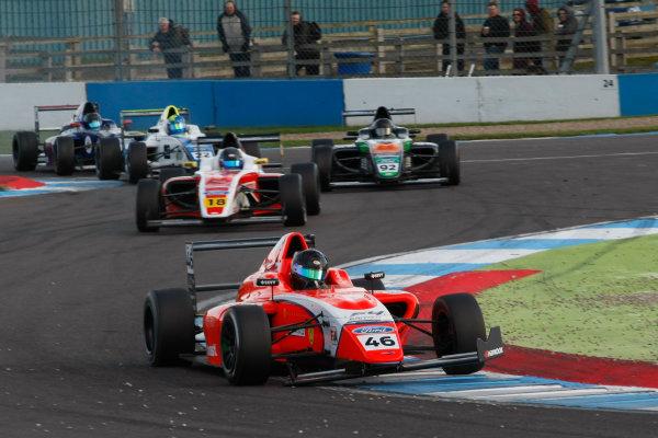 2017 British Formula 4 Championship, Donington Park, April 15th-16th 2017, Yves Baltas (USA) TRS Arden British F4 World Copyright. JEP/LAT Images