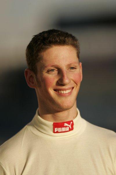 2008 GP2 Asia Series. Testing.Dubai. Dubai Autodrome. 20th January.Romain Grosjean (FRA, ART Grand Prix). Portrait. World Copyright: Alastair Staley/GP2 Series Media Serviceref: _MG_2213
