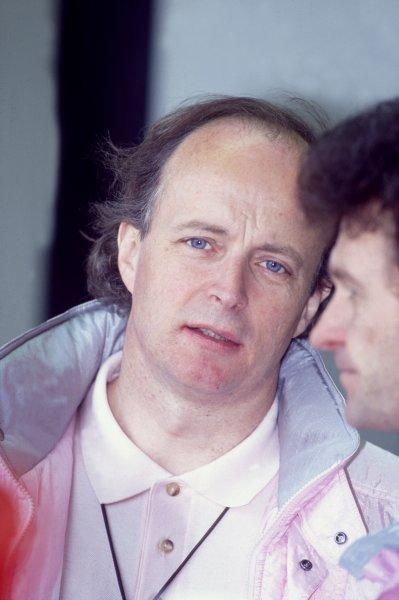 1990 Le Mans 24 HoursLe Mans, France. 16th - 17th June.Richard Lloyd (Italya Sport/Richard Lloyd Racing Porsche 962C), portrait.World Copyright: LAT Photographicref: 35mm Transparency Image