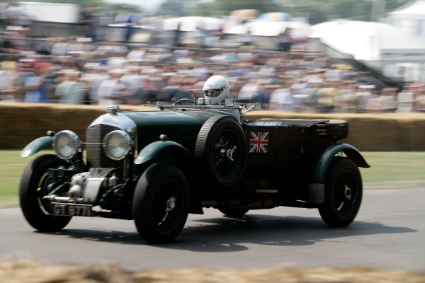 2005 Goodwood Festival of SpeedGoodwood Estate, West Sussex. 24th - 26th June Bentley 4 5 Litre Supercharged. Action World Copyright: Gary Hawkins/LAT Photographicref: Digital Image Only