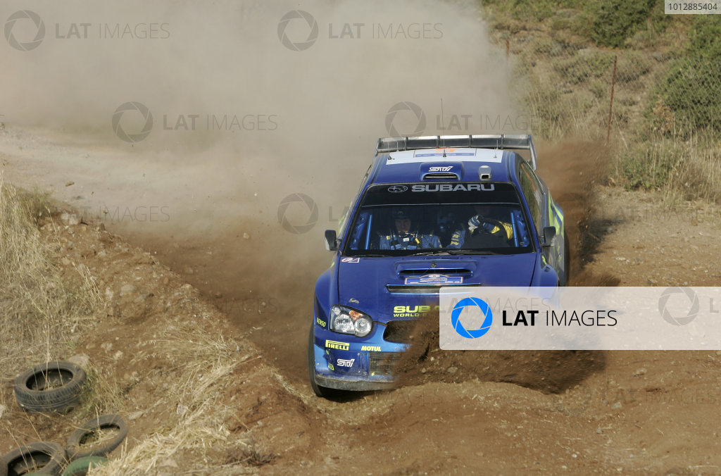 2005 FIA World Rally Champs. Acropolis
