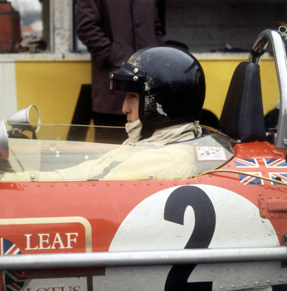 Jochen Rindt (Lotus 49-Ford Cosworth), portrait.Ref-R1A 05.World Copyright: LAT Photographic