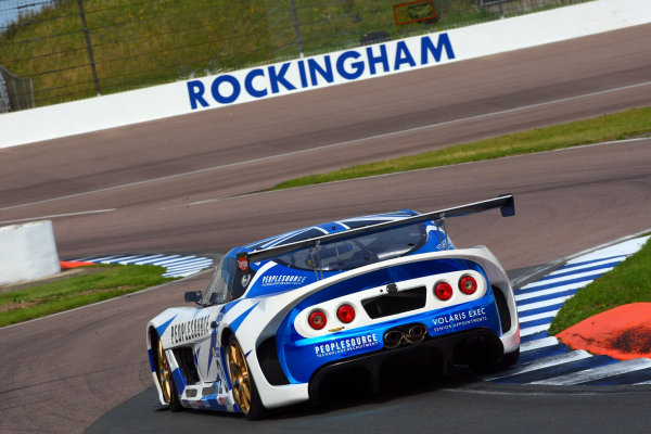 Michelin Ginetta GT4 SuperCup Rockingham, 26th-27th August 2017, Jason Baker Rob Boston Racing. World copyright.. JEP/LAT Images
