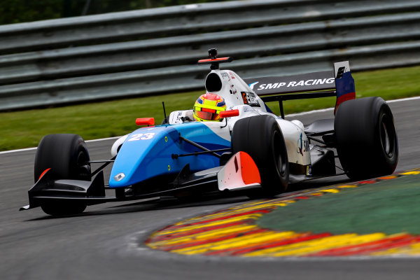 SPA-FRANCORCHAMPS (BEL) May 20-21-2016 - Formula V8 3.5 at Spa-Francorchamps. Matthieu Vaxiviere #23 SMP Racing. Action. © 2016 Co van der Gragt / Dutch Photo Agency / LAT Photographic