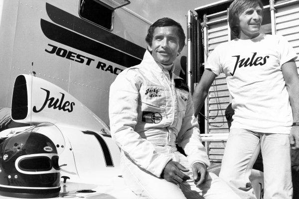 1981 Le Mans 24 hours. Le Mans, France. 13th - 14th June 1981. Jacky Ickx/Derek Bell (Porsche 936/81), 1st position. Portrait. World Copyright - LAT Photographic Ref: b&w print