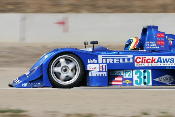 2004 American Le Mans Series (ALMS)Laguna Seca, California, USA. 15 - 16 October.Clint Field at speed.World Copyright: Richard Dole/LAT Photographicref: Digital Image Only