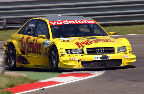 2004 DTM ChampionshipAdria, Italy. 15th - 16th May 2004.Tom Kristensen (Abt Sportsline Audi A4), action.World Copyright: Andre Irlmeier/LAT Photographicref: Digital Image Only