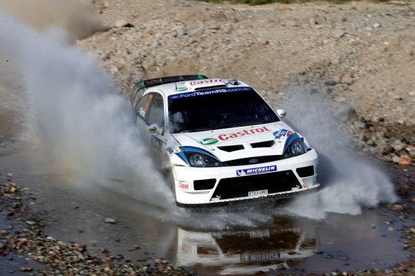 2004 FIA World Rally Champs. Round three, Corona Rally Mexico.11th-14th March 2004.Markko Martin, Ford, action.World Copyright: McKlein/LAT