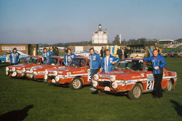 Lombard RAC Rally, Great Britain. 22-26 November 1975.