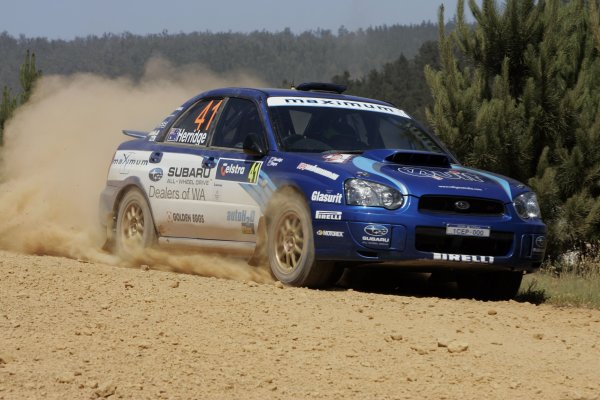 2006 FIA World Rally Champs. Round 6Rally Australia 26-29 October 2006Dean Herridge, Subaru GpN, actionWorld Copyright: McKlein/LAT