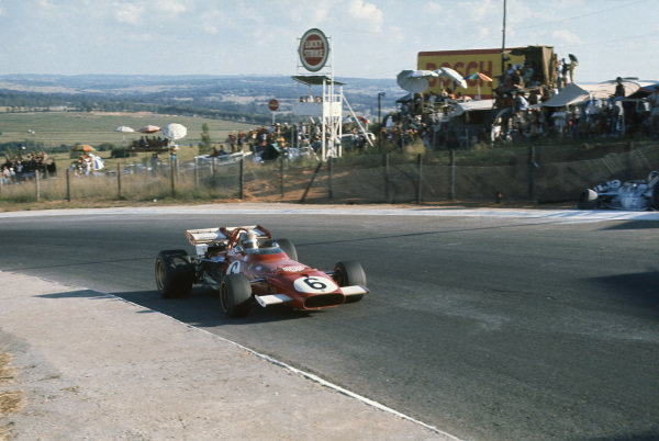 1971 South African Grand Prix.  Kyalami, South Africa. 4-6th March 1971.  Mario Andretti, Ferrari 312B, 1st position.  Ref: 71SA31. World Copyright: LAT Photographic