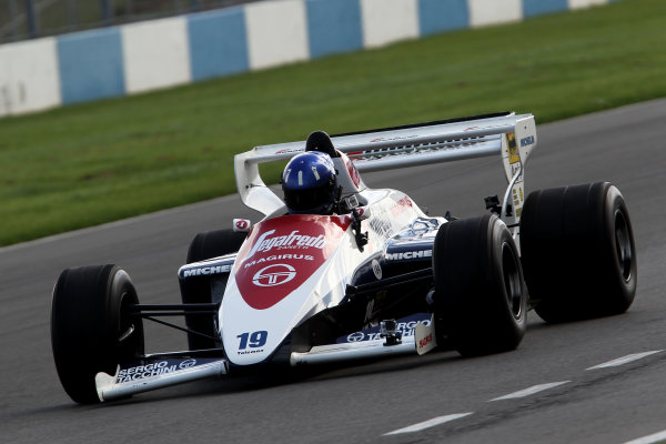2014 British Formula 3 International Series, Media Day. Donington Park, Leicestershire. 8th April 2014. Damon Hill (GBR) TolemanWorld Copyright: Jakob Ebrey / LAT Photographic