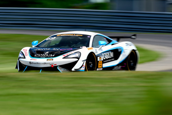 IMSA Continental Tire SportsCar Challenge Lime Rock Park 120 Lime Rock Park, Lakeville, CT USA Friday 21 July 2017 69, McLaren, McLaren GT4, GS, Chris Green, Jesse Lazare World Copyright: Gavin Baker LAT Images