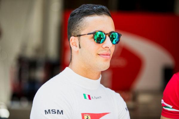 2017 FIA Formula 2 Round 4. Baku City Circuit, Baku, Azerbaijan. Friday 23 June 2017. Antonio Fuoco (ITA, PREMA Racing)  Photo: Zak Mauger/FIA Formula 2. ref: Digital Image _56I6541