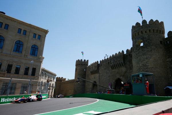 Baku City Circuit, Baku, Azerbaijan. Saturday 24 June 2017. Sergio Canamasas (ESP, Trident)  World Copyright: Hone/LAT Images ref: Digital Image _ONY9714
