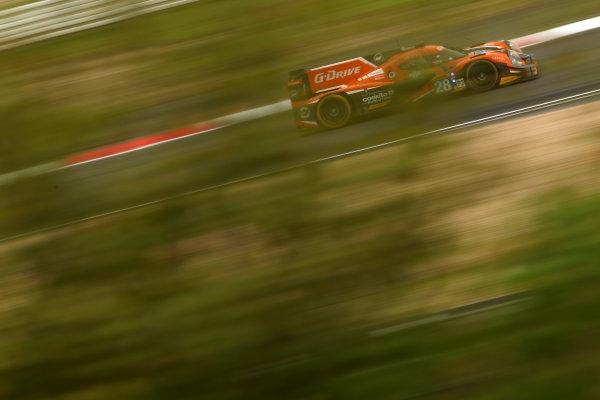 2015 FIA World Endurance Championship, Nurburgring, Germany. 28th - 30th August 2015. Gustavo Yacaman / Luis Felipe Derani / Ricardo Gonzalez G-Drive Racing Ligier JS P2 Nissan. World Copyright: Ebrey / LAT Photographic.