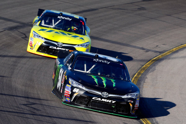 31 July - 1 August, 2015, Newton, Iowa USA Drew Herring, Monster Energy Toyota Camry and Cale Conley ?2015, Russell LaBounty LAT Photo USA