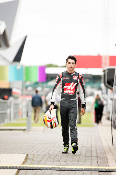 Silverstone, Northamptonshire, UK Thursday 7 July 2016 Charles Leclerc, Haas F1 Team. World Copyright: Andrew Hone/LAT Images  ref: Digital Image _ONY6265
