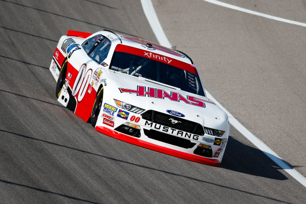 NASCAR XFINITY Series Kansas Lottery 300 Kansas Speedway, Kansas City, KS USA Friday 20 October 2017 Cole Custer, Haas/Code 3 Associates Ford Mustang World Copyright: Barry Cantrell LAT Images