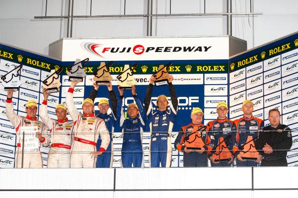 Fuji Speedway, Japan, 12th-14th October, 2012,P2 PodiumWorld Copyright Ebrey/LAT Photographic