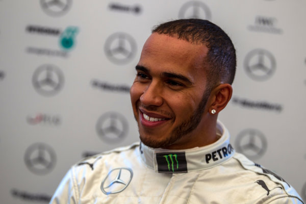 Circuito de Jerez, Jerez de la Frontera, Spain, 4th February 2013 Lewis Hamilton, Mercedes AMG, addresses the media at a post launch Press Conference. World Copyright: Malcolm Griffiths/LAT Photographic ref: C76D8564