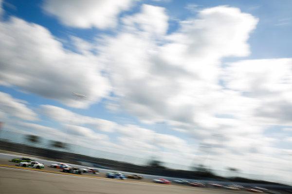 NASCAR Xfinity Series PowerShares QQQ 300 Daytona International Speedway, Daytona Beach, FL USA Saturday 17 February 2018 Tyler Reddick, JR Motorsports, BurgerFi Chevrolet Camaro World Copyright: Barry Cantrell LAT Images