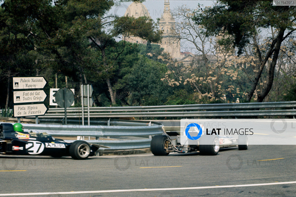 Montjuich Park, Barcelona, Spain. 16-18 April 1971.