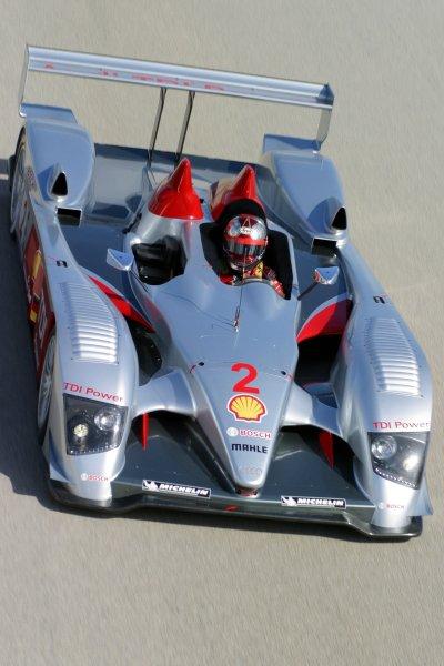 JANUARY 23-25, 2006, SEBRING INTERNATIONAL RACEWAY,  NO 2 AUDI R10, DRIVEN BY RINALDO CAPELLO ©2006, GREG ALECK/LAT