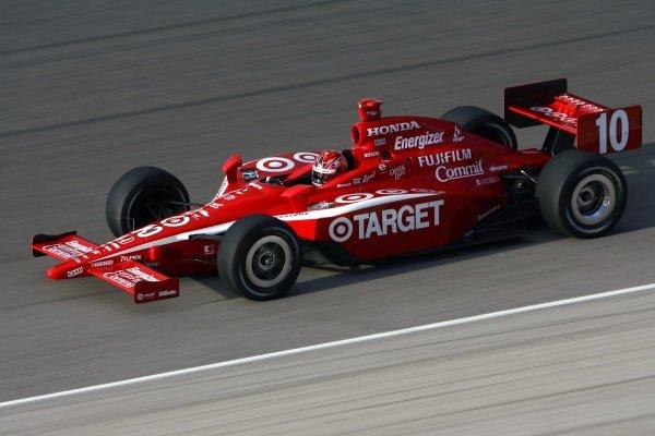 Dan Wheldon (GBR), Target Ganassi Racing Dallara Honda won the pole and the race.IRL IndyCar Series, Rd1, XM Satellite Indy 300, Homestead-Miami Speedway, Homestead, FLorida, USA. 23-25 March 2007.DIGITAL IMAGE