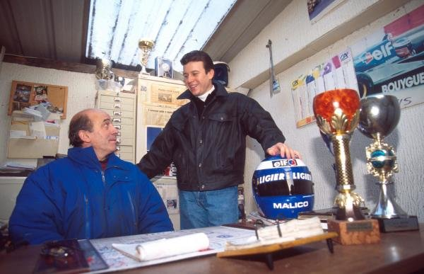 Olivier Panis at home in Grenoble, France.Formulao One Drivers At Home