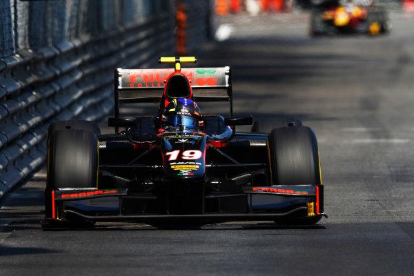 2017 FIA Formula 2 Round 3. Monte Carlo, Monaco. Saturday 27 May 2017. Johnny Cecotto Jr. (VEN, Rapax)  Photo: Zak Mauger/FIA Formula 2. ref: Digital Image _31I9650