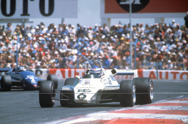 1982 French Grand Prix.Paul Ricard, Le Castellet, France.Keke Rosberg (Williams FW08-Ford Cosworth), 5th position.World Copyright: LAT Photographic