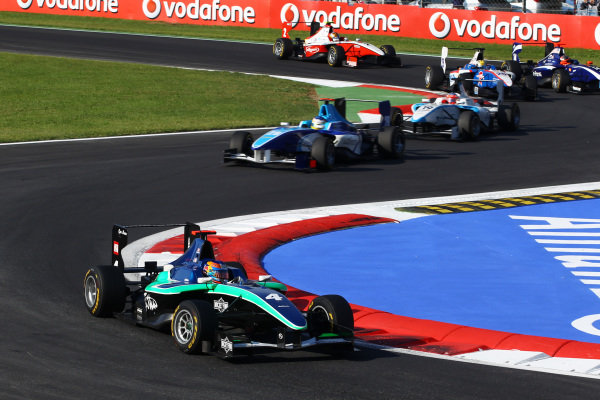 Race winner Robert Wickens (CDN) Status Grand Prix. GP3 Series, Rd 8, Race 2, Monza, Italy, Sunday 12 September 2010.
