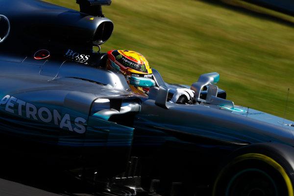 Hungaroring, Budapest, Hungary.  Saturday 29 July 2017. Lewis Hamilton, Mercedes F1 W08 EQ Power+.  World Copyright: Steven Tee/LAT Images  ref: Digital Image _R3I2706