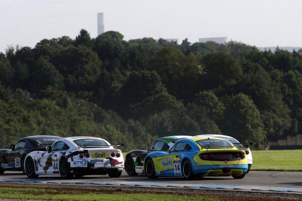 2016 Ginetta GT5 Championship, Donington Park 10th-11th September 2016 Nick Zapolski (GBR) Got Boost Ginetta G40  World Copyright. Jakob Ebrey/LAT Photographic