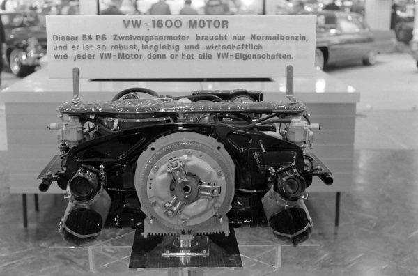 1.6-litre Volkswagen air-cooled four-cylinder engine
