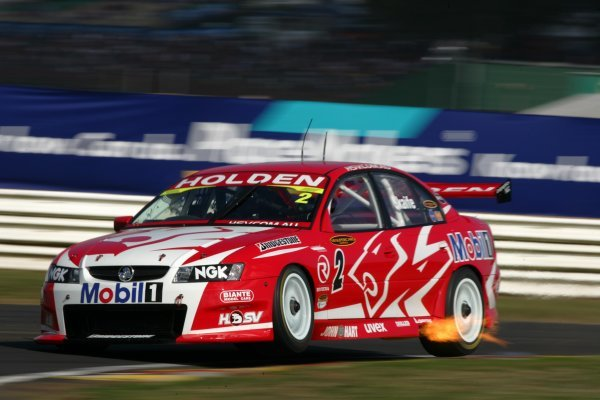 Mark Skaife (Aust) HRT Commodore fought his way to a strong 4th outright
