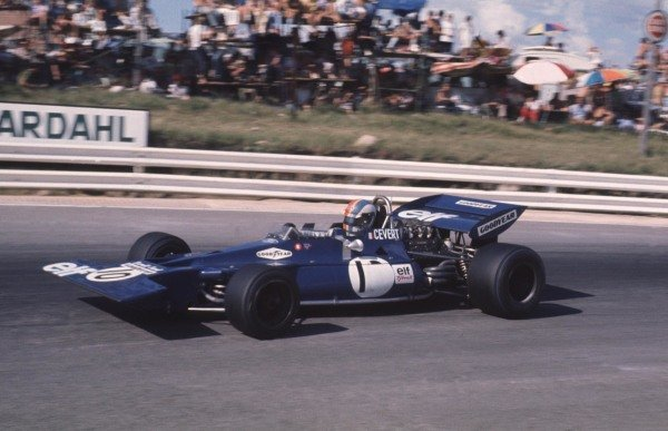1971 South African Grand Prix.Kyalami, South Africa.4-6 March 1971.Francois Cevert (Tyrrell 002 Ford).World Copyright - LAT Photographic