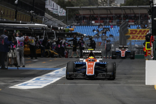 Rio Haryanto (IDN) Manor Racing MRT05 at Formula One World Championship, Rd1, Australian Grand Prix, Practice, Albert Park, Melbourne, Australia, Friday 18 March 2016.