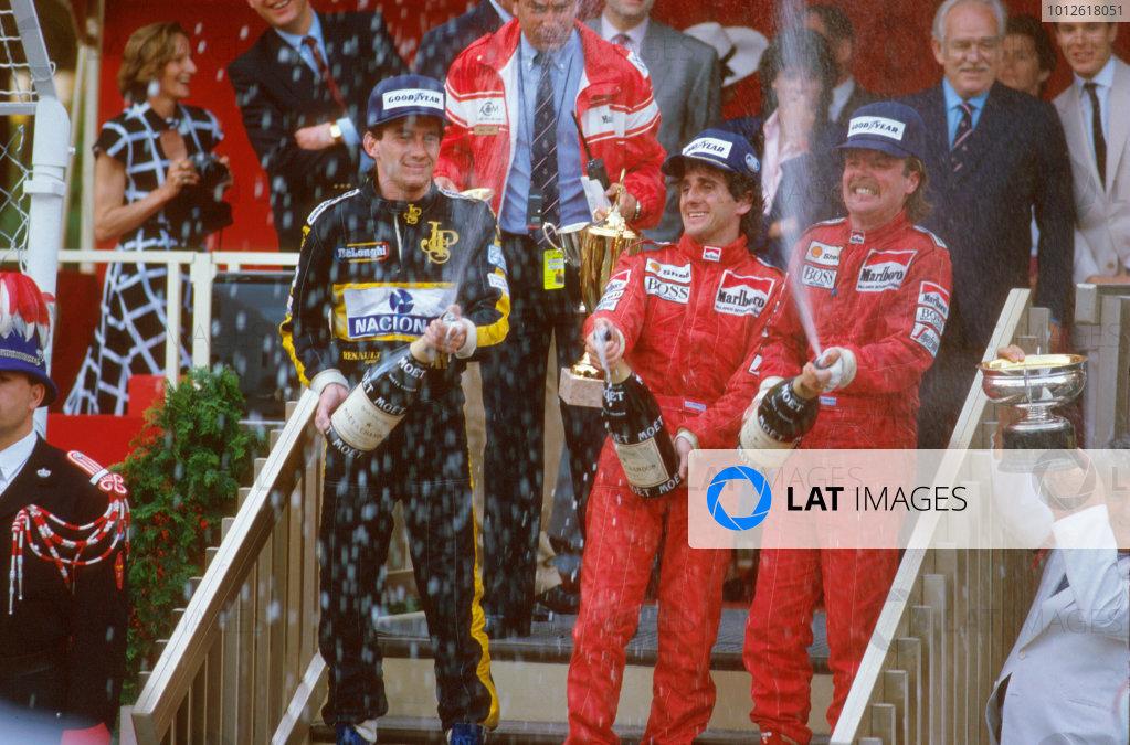 1986 Monaco Grand Prix.