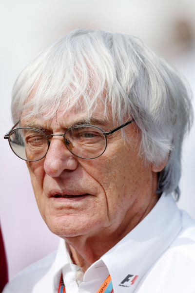 Silverstone Circuit, Northamptonshire, England. Friday 3 July 2015. Bernie Ecclestone, CEO and President, FOM. World Copyright: Alastair Staley/LAT Photographic ref: Digital Image _79P0618