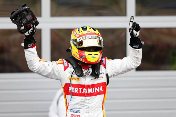 2015 GP2 Series Round 4. Red Bull Ring, Spielberg, Austria. Sunday 21 June 2015. Rio Haryanto (INA, Campos Racing)  Photo:  Alastair Staley/GP2 Media Service ref: Digital Image _79P8627