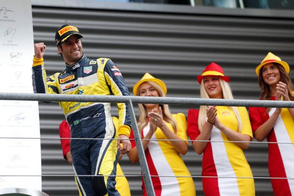 2014 GP2 Series Round 8. Spa-Francorchamps, Spa, Belgium. Sunday 24 August 2014. Felipe Nasr (BRA, Carlin)  Photo: Jed Leicester/GP2 Series Media Service. ref: Digital Image _ED_3237