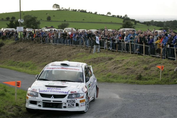 2006 British Rally ChampionshipUlster Rally, Armagh.2nd September 2006Jonny MilnerWorld Copyright - Ebrey/LAT Photographic