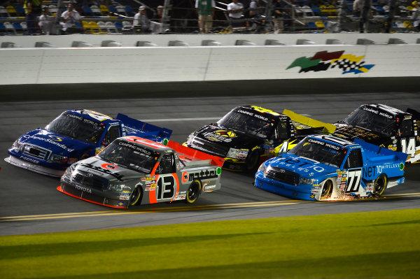 February 21-22, 2013 Daytona Beach, Florida USA Todd Bodine and Ryan Blaney pack.(c) 2013, Brian Czobat LAT Photo USA .