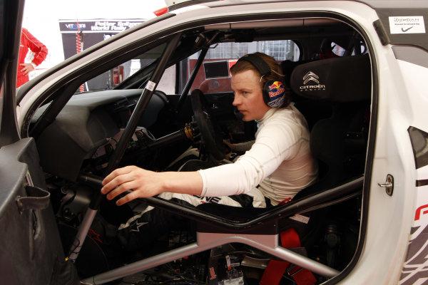 Round 04 Rally Jordan. 14th-16th April 2011.Kimi Raikkonen, Citroen WRC, Portrait.Worldwide Copyright: McKlein/LAT
